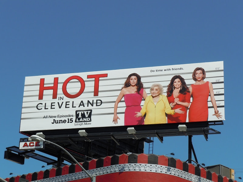 Hot in Cleveland Usual Suspects billboard