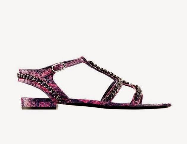 Sandalias de Chanel