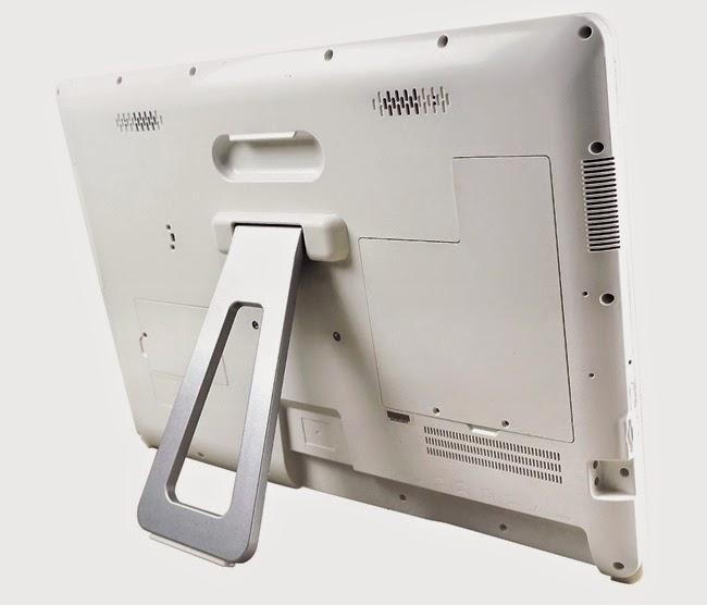 Моноблок DuraBook P24 задняя сторона