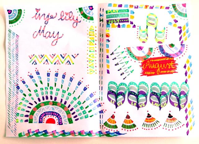 trio magic colorsplitz markers