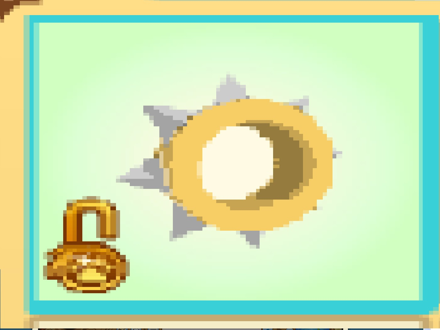 Animal Jam Rare Spike Collar Yellow