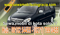 sewa mobil di kota Solo contact us 0818254455 Gracia Sewa Mobil Solo
