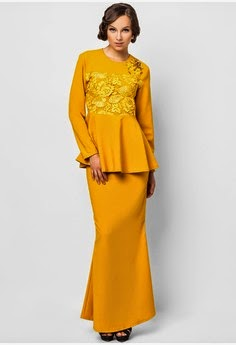 Model Baju Kurung Moden Terbaru 2014 » Terbaru 2014
