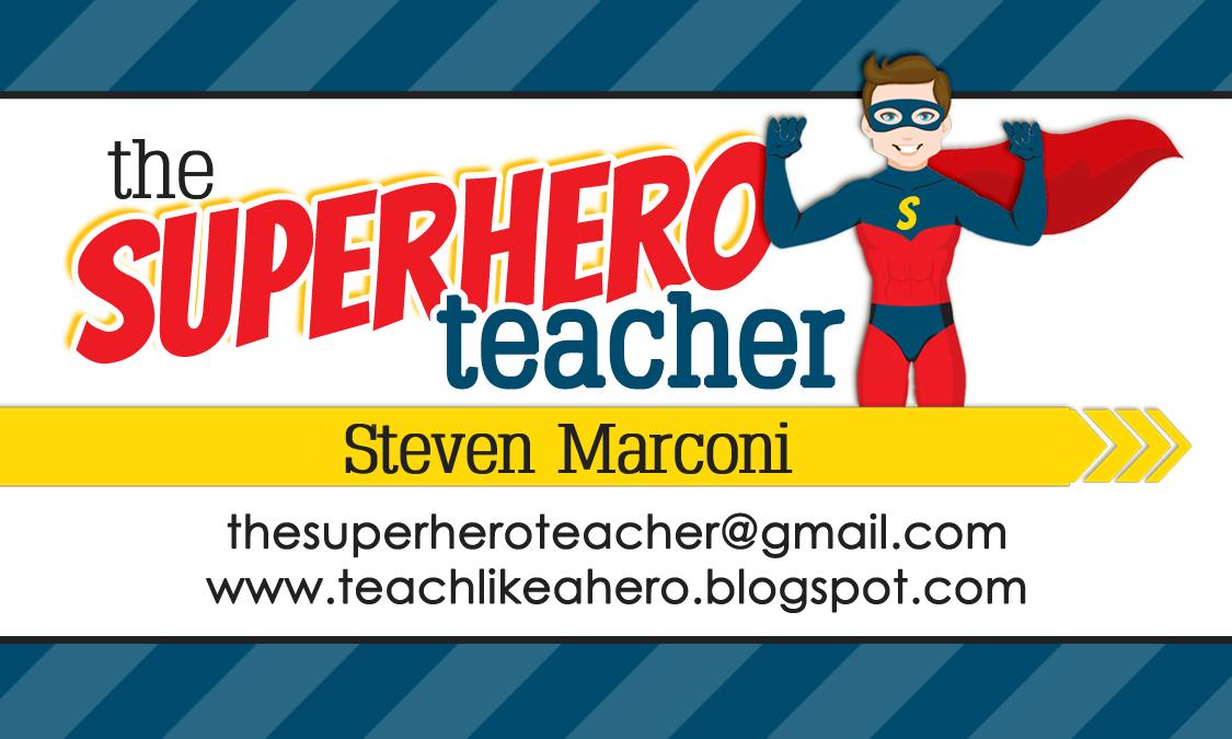 Designs By Kassie: The Superhero Teacher | blog design