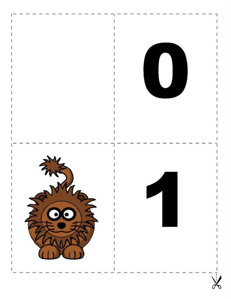 Matemáticas divertidas: Memorama de números del 1 al 9