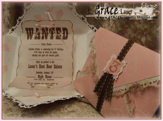 Cowgirl Invitation
