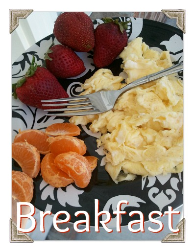 wiaw eggs strawberries clementine