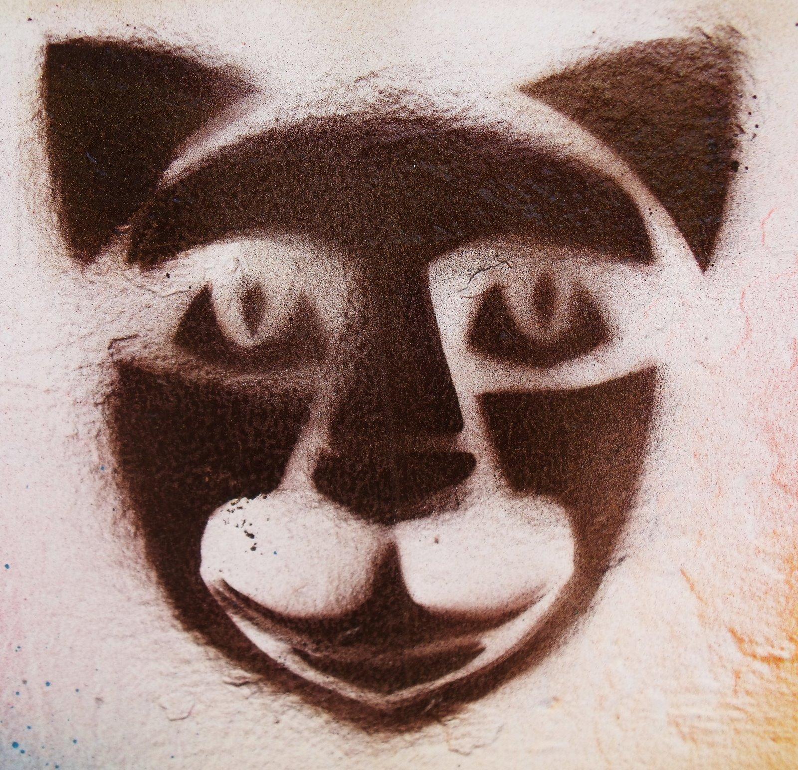 Conhecido KIRIGAMI POR ÂNGELO: Pintura Grafite com máscaras de Kirigami  DC78
