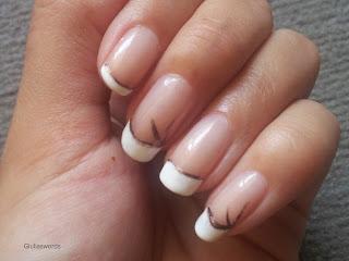 Nagellack Bu00fccher Und Anderer Mu00e4dchenkram ;) [Nageldesign] French Manicure