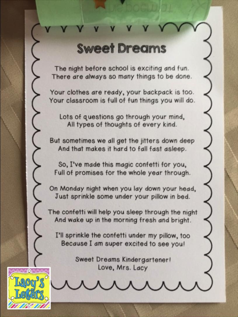 Teacher Poem To Parents. whose child is this. teacher ...