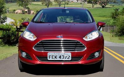 Ford New Fiesta 2014 Automático