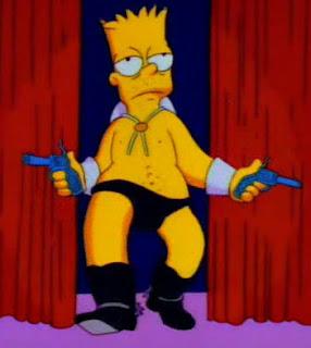 Bart jako striptizer