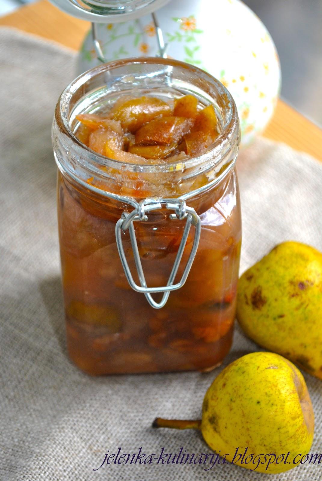 Как варить варенье из груш на зиму. 6 рецептов грушевого варенья