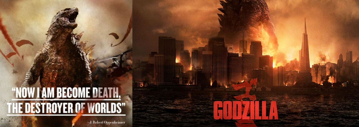 Godzilla: First Full Trailer & Poster