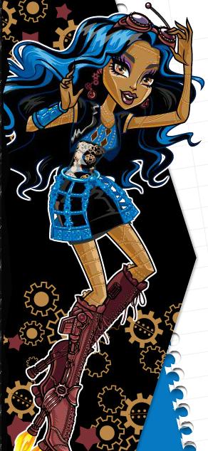 Monster high me robecca steam - Robecca steam monster high ...