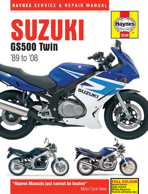 suzuki gs500 repair manual