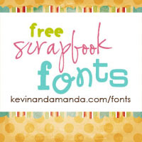 http://www.kevinandamanda.com/fonts/freescrapbookfonts/