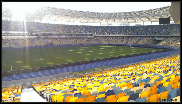 Stade Olympique Dynamo Kiev Euro 2012 football