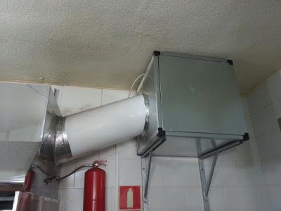 Instalar extractor de humos