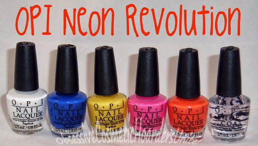 Neon Nail Polish Right Now Summer Is The Perfect Time To Play Around With Bold Color And OPI Has A New Mini Set That Gives You Little Bit Of