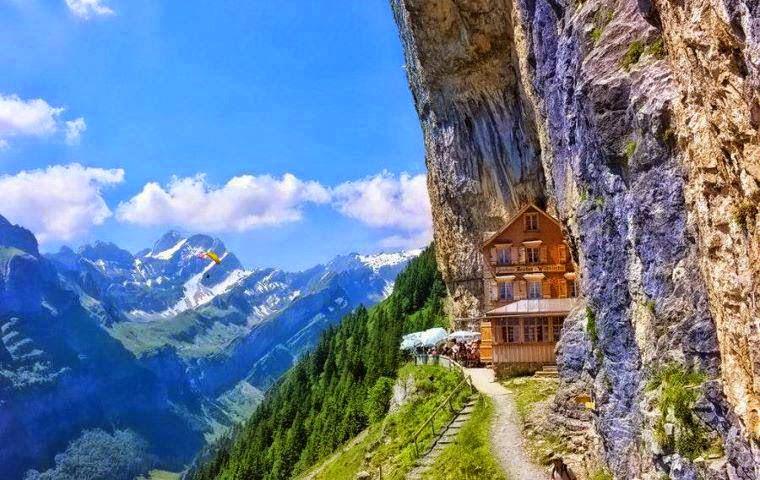 Berggasthaus Äscher-Wildkirchli - Weissbad (Svizzera)