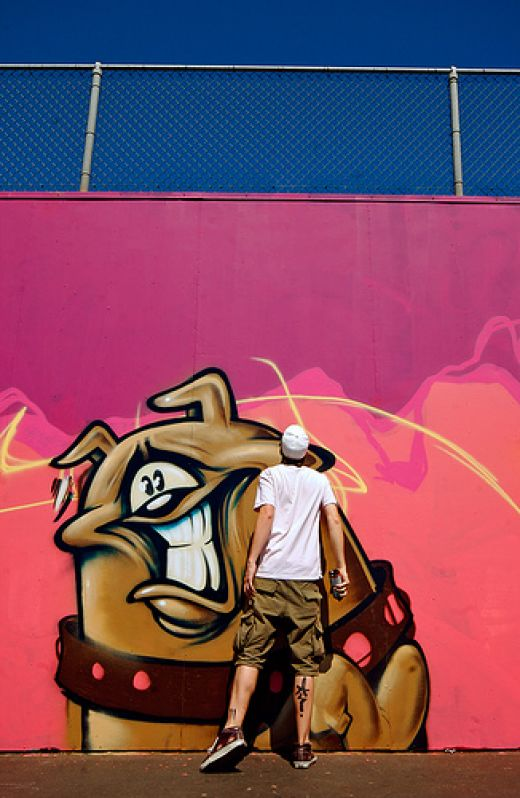 graffiti 3d wildstyle: 8 Graffiti Characters of Street Art