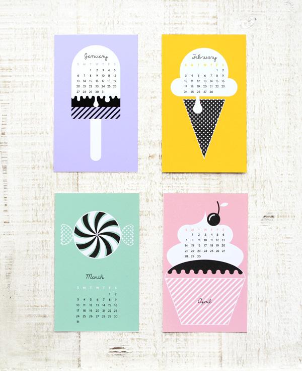 Calendar Design Tumblr : Junes dagbok nytt År gratis print