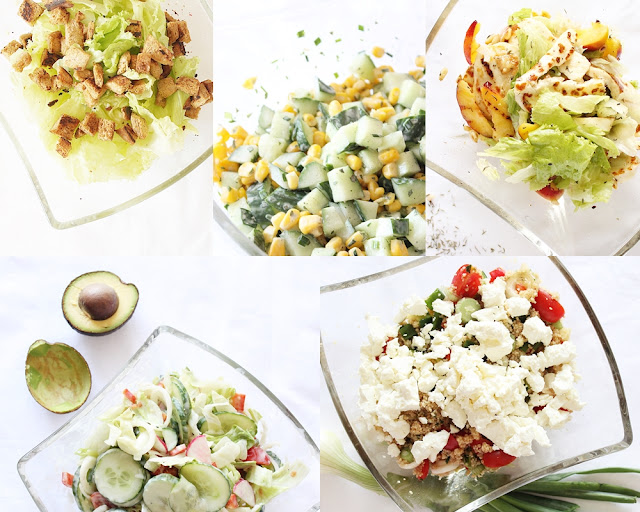 refreshing salads