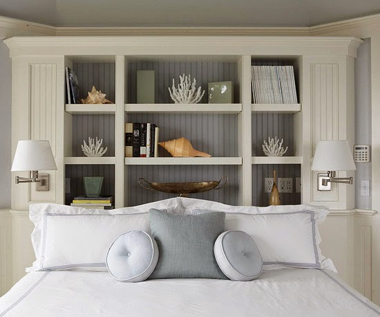 Storage Headboard Ideas
