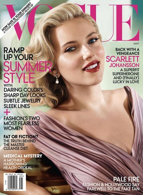 Scarlett Johansson Vogue 2012