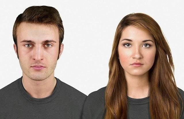 Gương mặt của con người vào năm 2013.