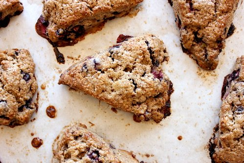 The Bojon Gourmet: Maple Blueberry Buckwheat Scones