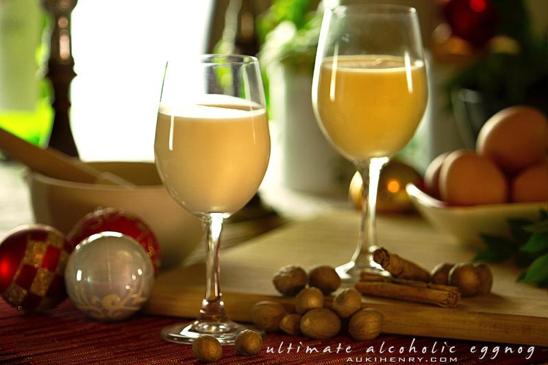 Alcoholic Eggnog