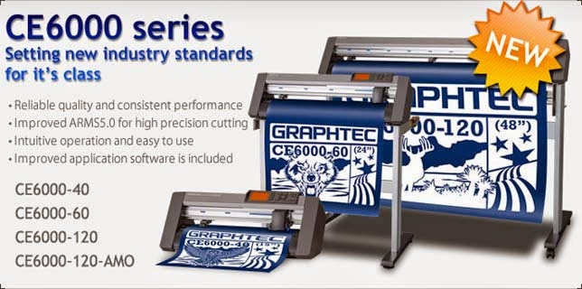 Mesin Cutting Sticker Graphtec CE6000-120