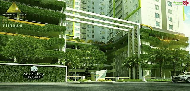 Mở bán chung cư Seasons Avenue - CT09 khu đô thị Mỗ Lao, Hà Đông