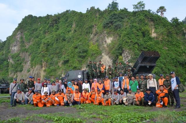 Dua Puluh Lima Unit Rudal R-Han 122B Berhasil Diluncurkan