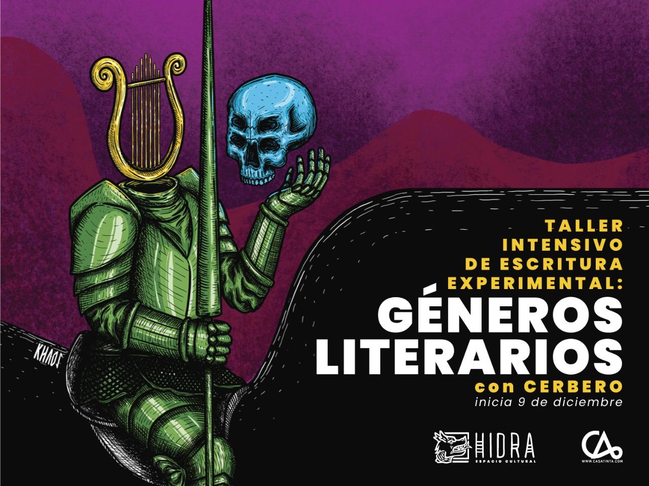 ESCRITURA EXPERIMENTAL: Géneros literarios // 9 de dic