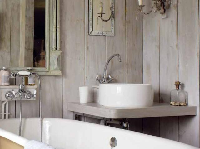 Vasca Da Bagno Stile Francese : Boiserie & c.: charme retro in bagno
