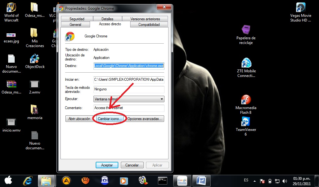 Como Cambiar El Icono Del Navegador Google Chrome