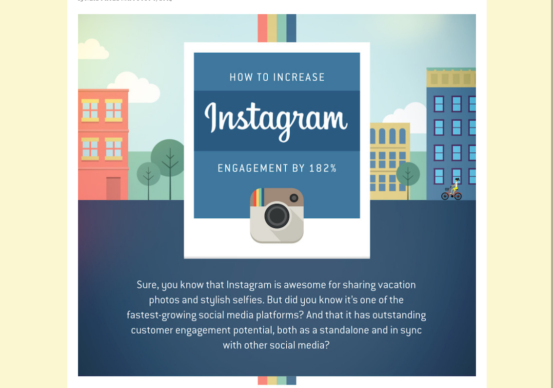 How To Increase Your Instagram Sharing ? [ Infographics ]