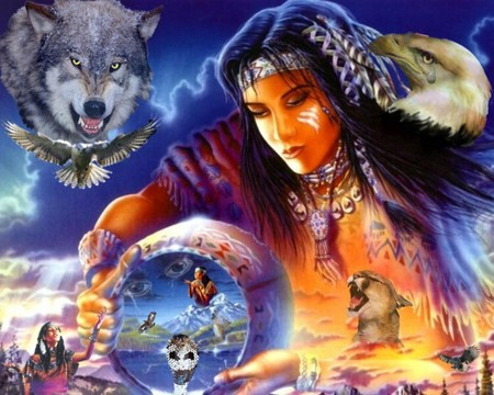 New Native American Legends Everyday: Cherokee Prayer Blessing