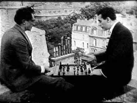 Marcel Duchamp Teeny Duchamp John Cage David Tudor Gordon Mumma David Behrman Lowell Cross Reunion T