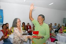Zefa da Guia é homenageada no dia internacional da mulher pela APESE ...