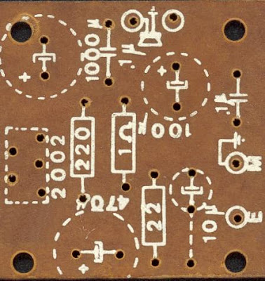 8W Audio Amplifier Circuit PCB