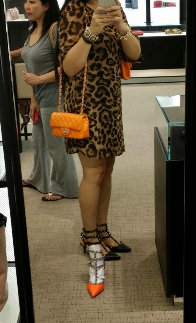 Princess Cypress ~ tPF: Chanel Orange Patent Leather Mini vs. CWC ...