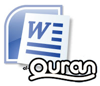 Qur'an In Microsoft Word 1.3 1