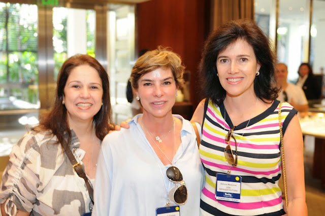 Cristina Schroeder, Carla de Freitas and Débora Medeiros at Tiffany & Co. 18 th Meting International