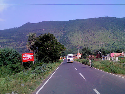 Yelagiri Road from base to top
