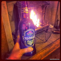 Cold Crabbie's warm fire