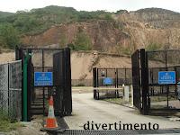 Bomb disposal depot